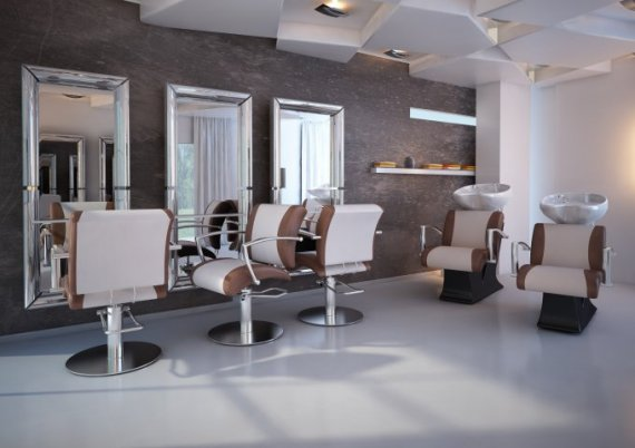 hairdresser studio zones